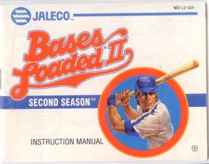 Bases Loaded II 2 - NES Manual