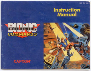 Bionic Commando - NES Manual