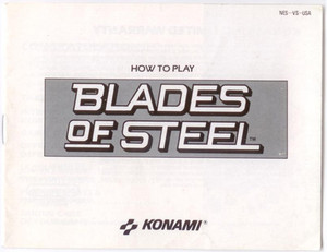 Blades of Steel Hockey - NES Manual
