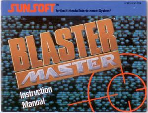 Blaster Master - NES Manual