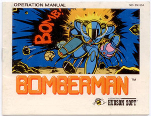 Bomberman - NES Manual