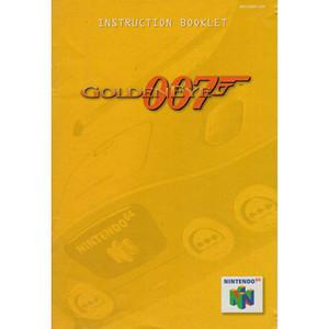 007 GoldenEye (James Bond) - N64 Manual