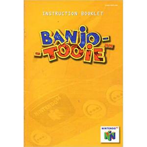 Banjo Tooie Manual For Nintendo N64