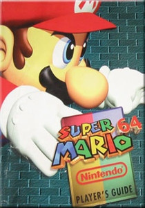 Player's Guide Super Mario 64 N64  - Official Nintendo 64