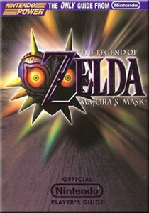 Player's Guide Zelda Majora's Mask N64  - Official Nintendo 64