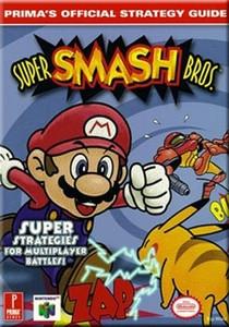Strategy Guide Super Smash Bros - Prima N64 Nintendo 64