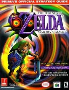 Strategy Guide Zelda Majora's Mask - Prima N64 Nintendo 64