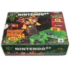 Donkey Kong Set In Box - Nintendo 64 System Pack
