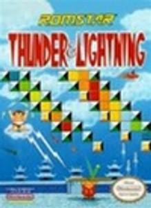 New Factory Sealed Thunder & Lightning - NES Game