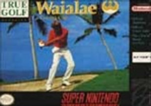 New Factory Sealed Waialae Country Club Golf - SNES Game