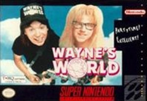 New Factory Sealed Wayne's World - SNES Game