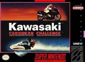 New Factory Sealed Kawasaki Caribbean Challenge - SNES Game