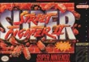 New Factory Sealed Super Street Fighter II - SNES Game