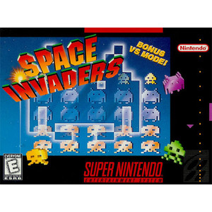 New Space Invaders - SNES Factory Sealed Game