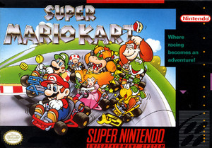 New Factory Sealed Mario Kart - SNES Game
