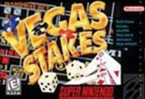New Factory Sealed Vegas Stakes - SNES Game