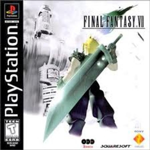 Complete Final Fantasy VII - PS1 Game