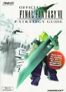 Strategy Guide Final Fantasy VII - Playstation