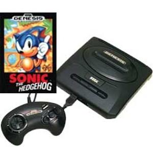 Sega Genesis II Sonic Pak