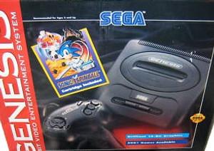 Sega Genesis II System w/Sonic Complete in Box