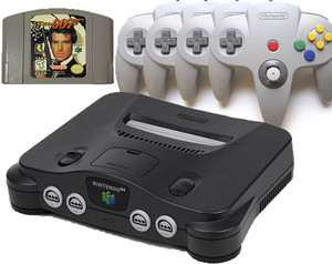 N64 GoldenEye Pak with upgrade