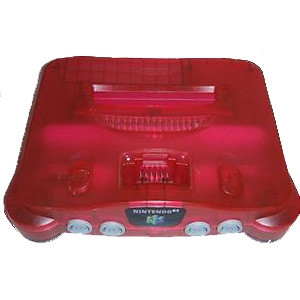 N64 Player Pak Watermelon Red