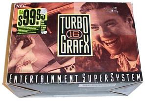 Turbo Grafx 16 System With Original Box Turbografx