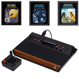 Atari 2600 System 3 Game 1 Player Pak