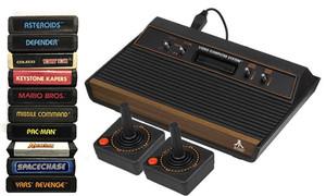 Atari 2600 System 10 Game Pro Pak