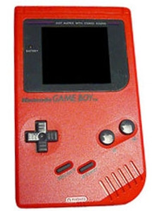 Game Boy System Red - Original Nintendo