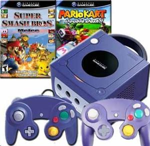 GameCube Indigo Super Smash Kart Pak