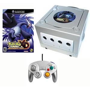 GameCube Platinum Pokemon XD Bundle Pak