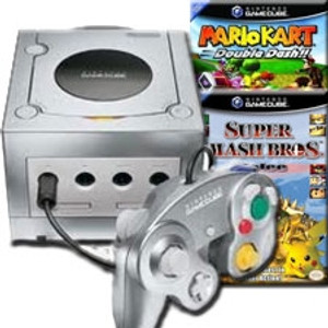 GameCube Platinum Super Smash Kart Pak