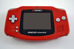 Game Boy Advance System Target Red