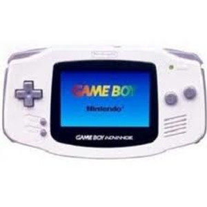 Game Boy Advance System White