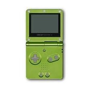 Game Boy Advance SP Lime Green with Charger