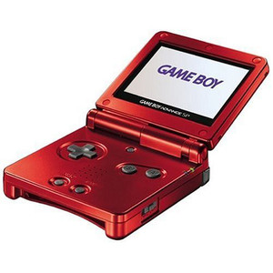 Game Boy Advance SP System Red
