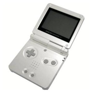 Game Boy Advance SP White with Charger