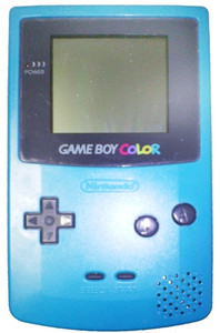 Game Boy Color System Blue