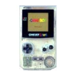 Game Boy Color System Clear