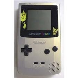 Game Boy Color System Gold Pokemon