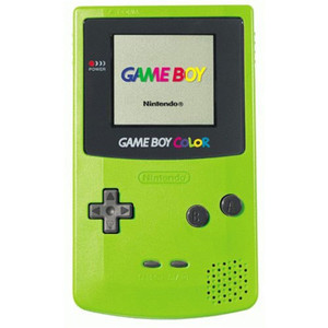 Game Boy Color System Neon Green