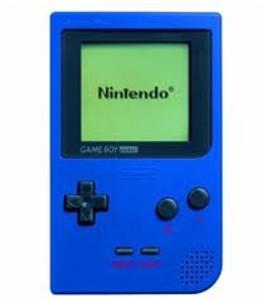 Game Boy Pocket System Blue