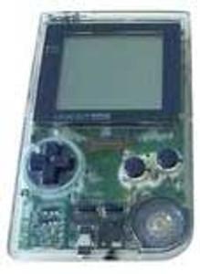 Game Boy Pocket System Clear