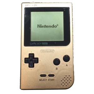 Game Boy Pocket System Gold