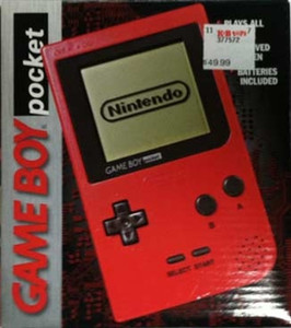Complete Game Boy Pocket System Red In Box