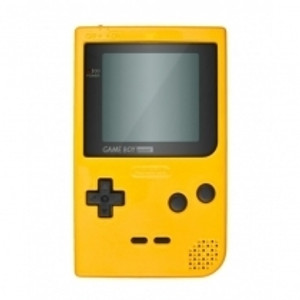 Game Boy Pocket System Yellow