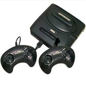 Sega Genesis II 2 Player Pak