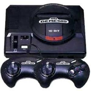 Sega Genesis 2 Player Pak