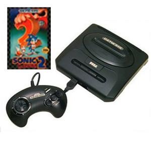 Sega Genesis II Sonic 2 Pak
